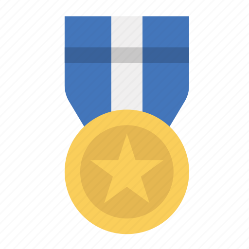 award, medal, prize, ribbon icon