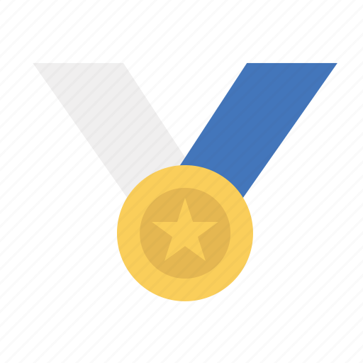 award, medal, ribbon, winner icon