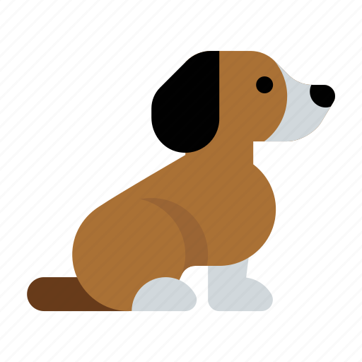 beagle, dog, pet, puppy icon