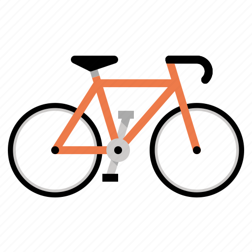 bicycle, bike, biking, cycling, fixed gear icon