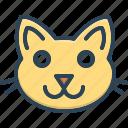 cats, halloween, carnivore, animal, face, creature, domestic