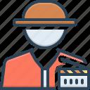 producer, maker, cinematography, industry, cinema, movie, filmstrip