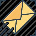 sending, message, mail, communication, envelope, letter, post