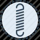 springs, flexible, bounce, compress, metal, grip, jump