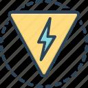 danger, peril, hazard, risk, jeopardy, thunder, lighting