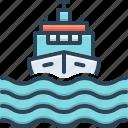 vessel, transport, sea, cargo, ship, boat, marine