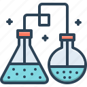 chemicals, erlenmeyer, flask, laboratory, experiment, erlenmeyer flask, conical flask