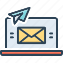 sends, message, mail, communication, envelope, letter, post