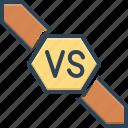 versus, confrontation, competition, fight, battle, challenge, contest