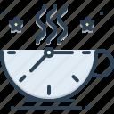break, breaktime, coffee, relaxing, tea, time icon