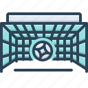 ball, game, goal, sport, target icon