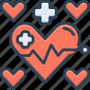 cardiology, health, healthcare, heart, medical, wellness icon