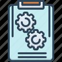 idea, management, plan, project, scheme icon