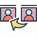 communication, concept, guideline, reference, testimony icon