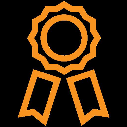 award, certification, felicitation, prize icon