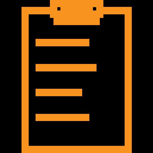 exam, exam pad, notebook, notepad, pad, test, writing icon