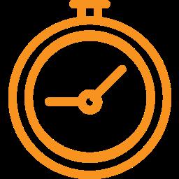 alarm, alarm clock, clock, hour, time, watch icon