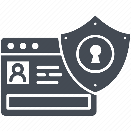 online banking, protection, secure, shield icon