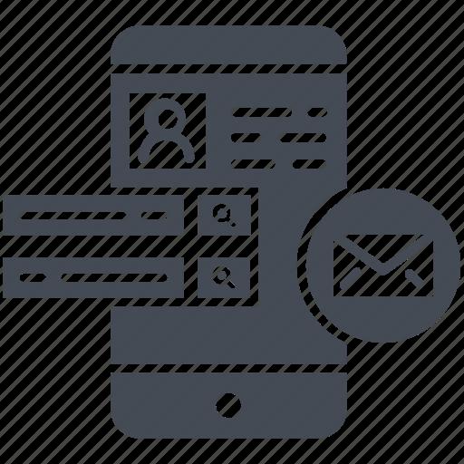 design, email, phone, ui, ux icon