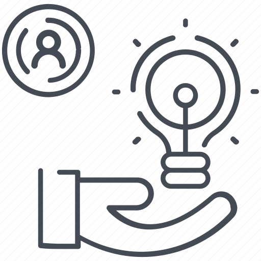 creative, idea, innovation, services icon