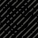 fap, logo, palm icon