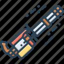 cannon, fire, gatling, gun, minigun, quick fire, weapon