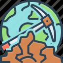 formation, geological, geologist, globe, landscape