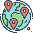 geotracking, gps, information, locations, navigation, pointer