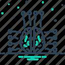 brain, intelligence, intelligent, smart icon