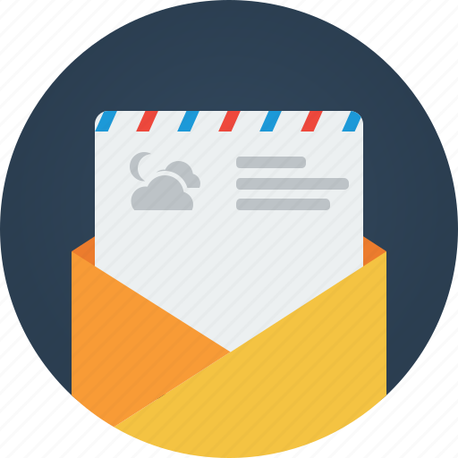 email, envelope, letter, mail, message, text icon