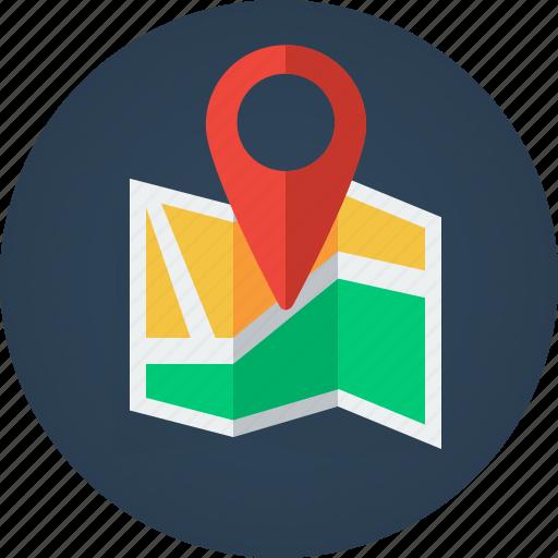 direction, gps, location, locator, map icon