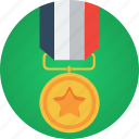 badge, gold, medal, medallion, reward, star, win, winner icon