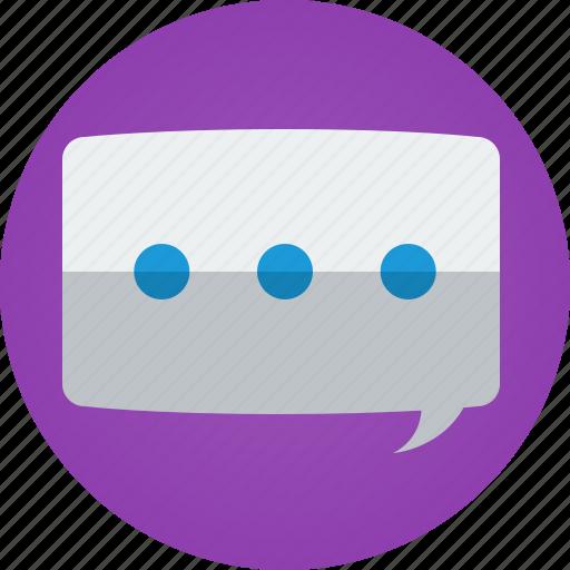 app, bubble, chat, discuss, instant messaging, instant messenger, speak, speech, speech bubble, talk, tchat icon