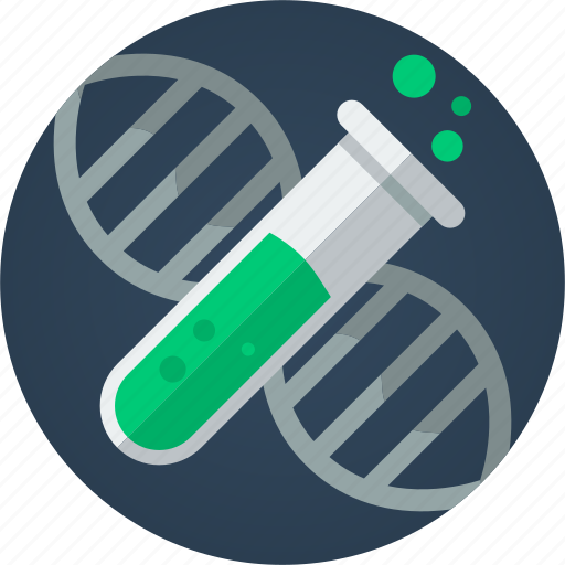 chemistry, dna, health, lab, lab tube, medical, medicine, science, scientist, test, test tube, tube icon