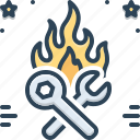 fire, fix, flame, hotfix, quick, quick fix