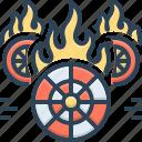 burning, fire, fire brigade, fire starter, flame, hotwheels, wheel