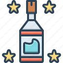 beverage, bottle, clean, transparent