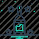 beverage, bottle, clean, transparent icon