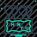 calligraphy, gratitude, message, thank, thank you, you icon