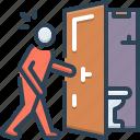 door, incontinence, incontinency, intemperance, toilet