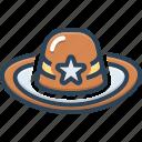 cap, detective, hat, headgear, mutch