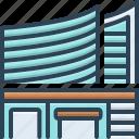 building, bureau, office, place of work, workspace