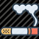 cigarette, fume, smoke, tobacco, unhealthy