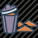 debris, dustbin, filth, garbage, mephitis, rubbish, squalor