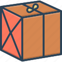box, package, parcel, shipping, wrapping icon
