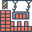construction, crane, lifting, machine