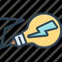 bulb, electricity, lightning, technology, volt
