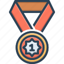 appointment, designation, medal, position, rank