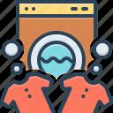 automatic, clothes, launderette, machine, washer, washing, washing machine icon