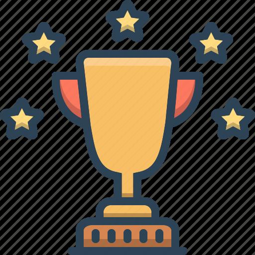 achievement, award, best, excellent, optimal, tiptop, winner icon